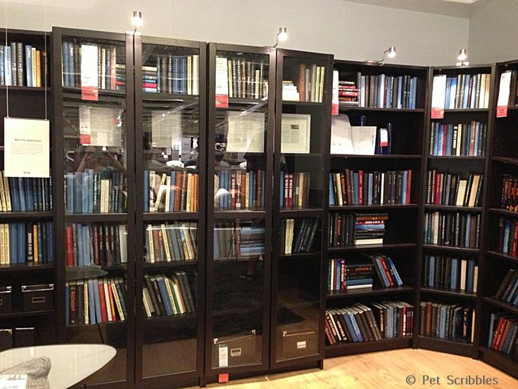 Le Meilleur Ikea Store Display Of Billy Bookcases For Library Book Ce Mois Ci
