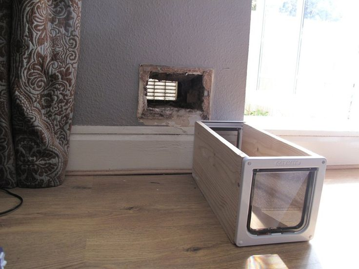 Le Meilleur How To Make A Cat Flap In A Wall Diy Pinterest Cats Ce Mois Ci