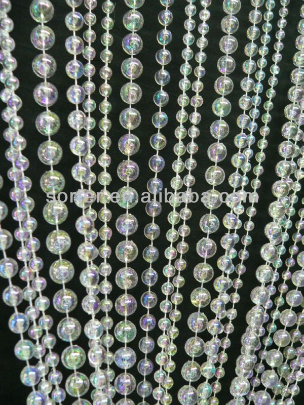 Le Meilleur New Style Fashionable Hanging Plastic Beaded Curtain Door Ce Mois Ci