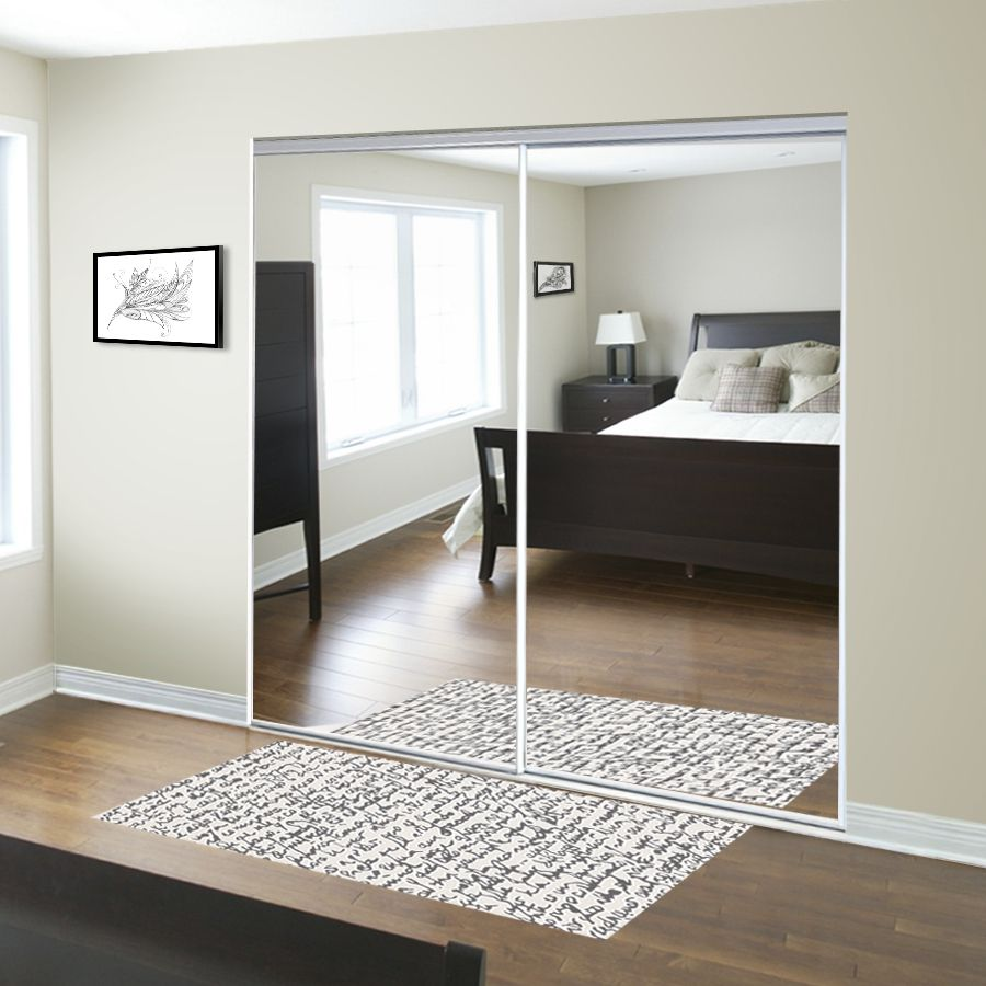 Le Meilleur For The Entryway Reliabilt 48 In X 80 In Mirrored Interior Ce Mois Ci
