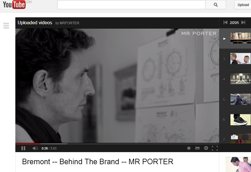 Le Meilleur Video Bremont For Mr Porter Watchpro Ce Mois Ci