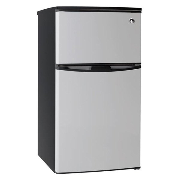 Le Meilleur Igloo® Fr834 Stainless Steel 2 Doors Refrigerator And Ce Mois Ci