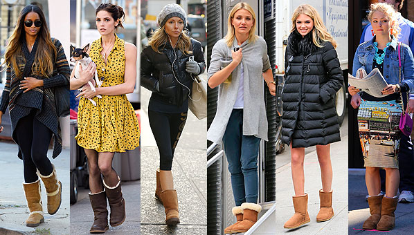 Le Meilleur Celebrities Wearing Ugg Boots Celebrity Ugg Boots Shefinds Ce Mois Ci