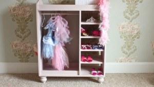 Girl's Dress Up Center { Free DIY Plans } Rogue Engineer