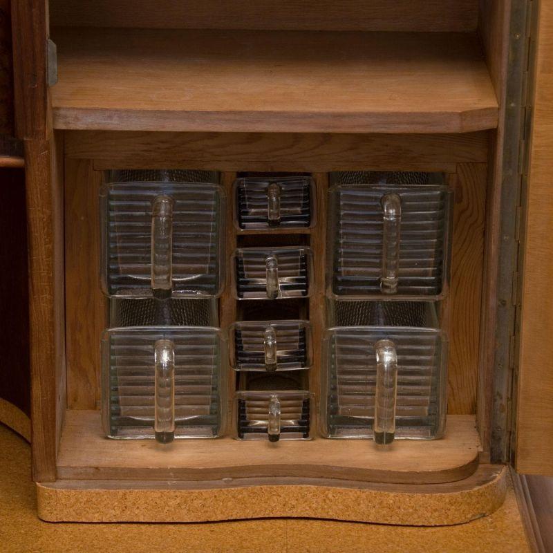 40er/50er Jahre Küchenschrank, Nussbaum » rolink.de
