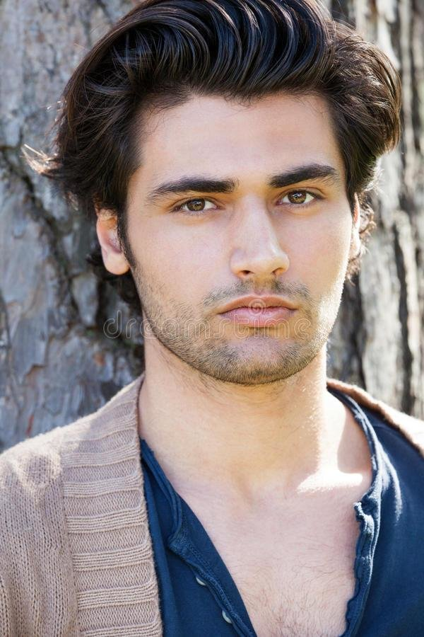 The Best Handsome Young Italian Man Portrait Stylish Hair Male Pictures