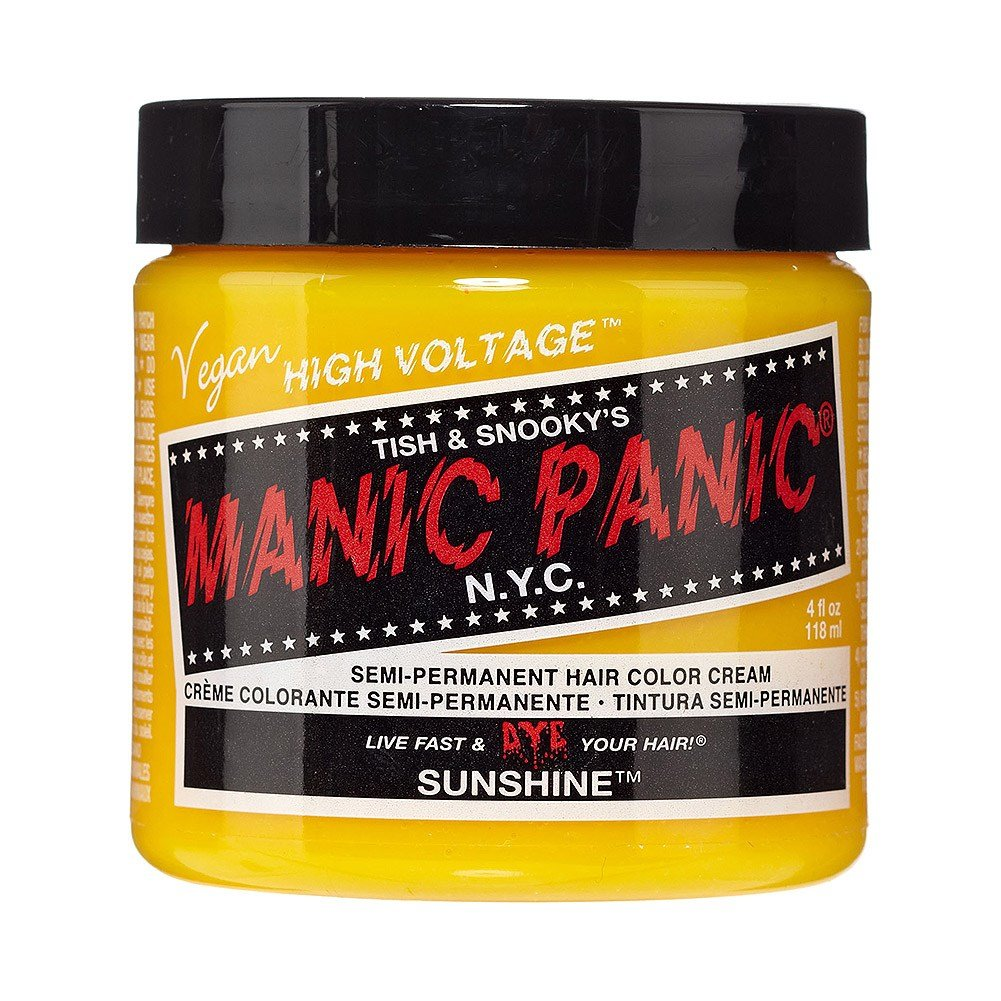The Best Manic Panic Sunshine High Voltage Classic Yellow Hair Dye Pictures