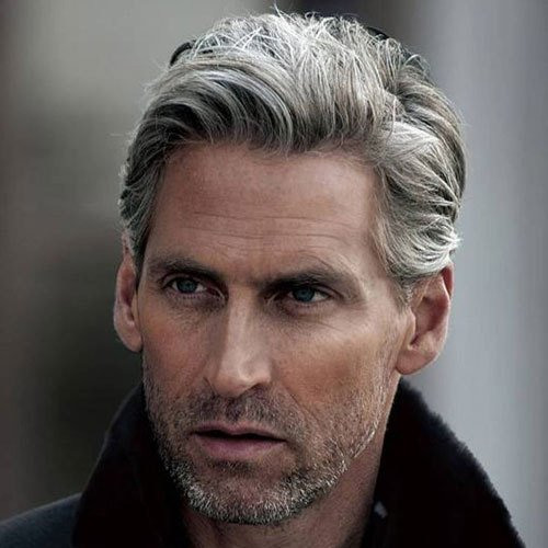 The Best 21 Best Men S Hairstyles For Silver And Grey Hair Men 2019 Guide Pictures