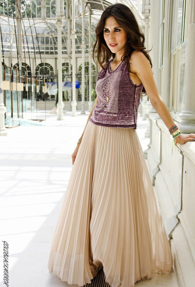 The Best How To Wear Pleated Skirts Pretty Designs Pictures