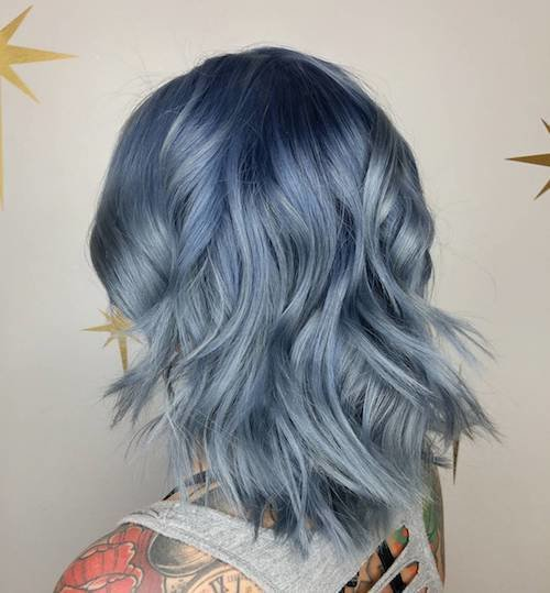 The Best 36 Denim Hair Color Ideas To Match Your Jeans In 2017 Pictures