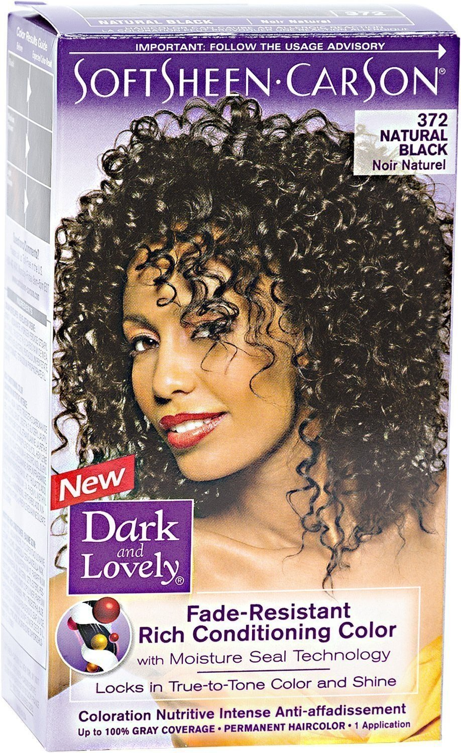 The Best Dark And Lovely Permanent Haircolor Natural Black 372 1 Pictures