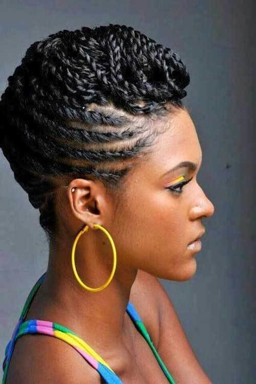 The Best Braids For Black Women With Short Hair Pictures