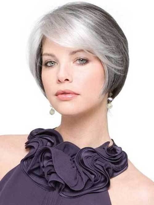The Best 14 Short Hairstyles For Gray Hair Pictures