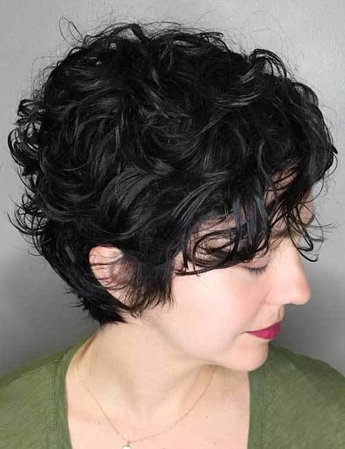 The Best Cute Curly Short Hairstyles For Ladies Pictures