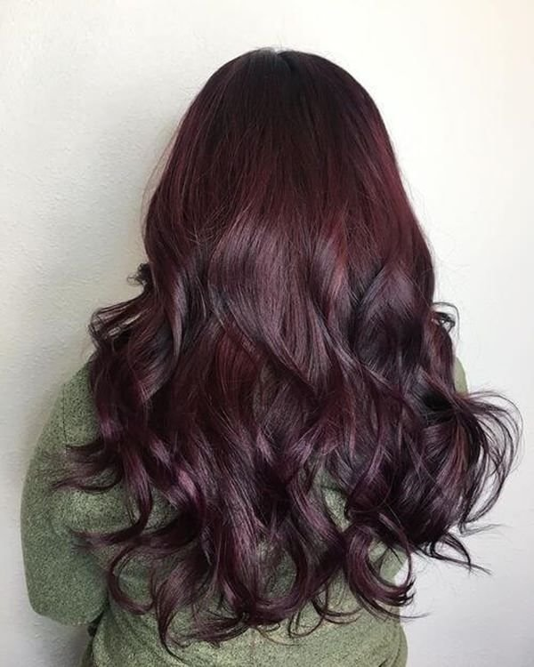 The Best 60 Gorgeous Burgundy Hairstyles That You Love Pictures