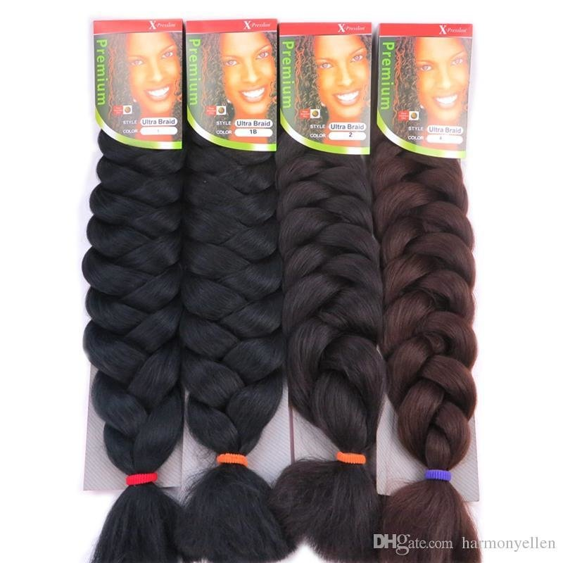 The Best X Pression Ultra Braids Hair Extensions 82 Inch 165G Pictures
