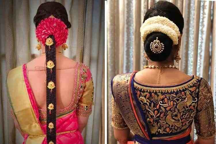 The Best 12 Popular South Indian Bridal Hairstyles Pictures