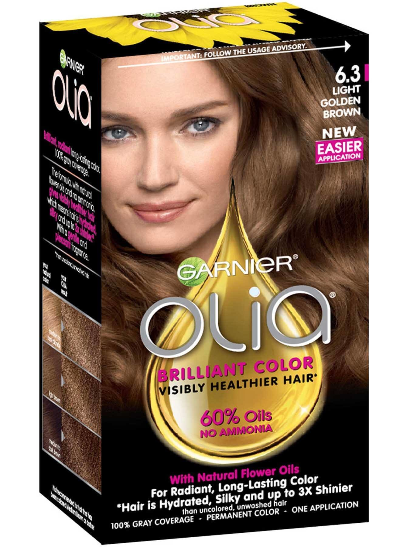 The Best Olia Ammonia Free Permanent Hair Color Light Golden Pictures