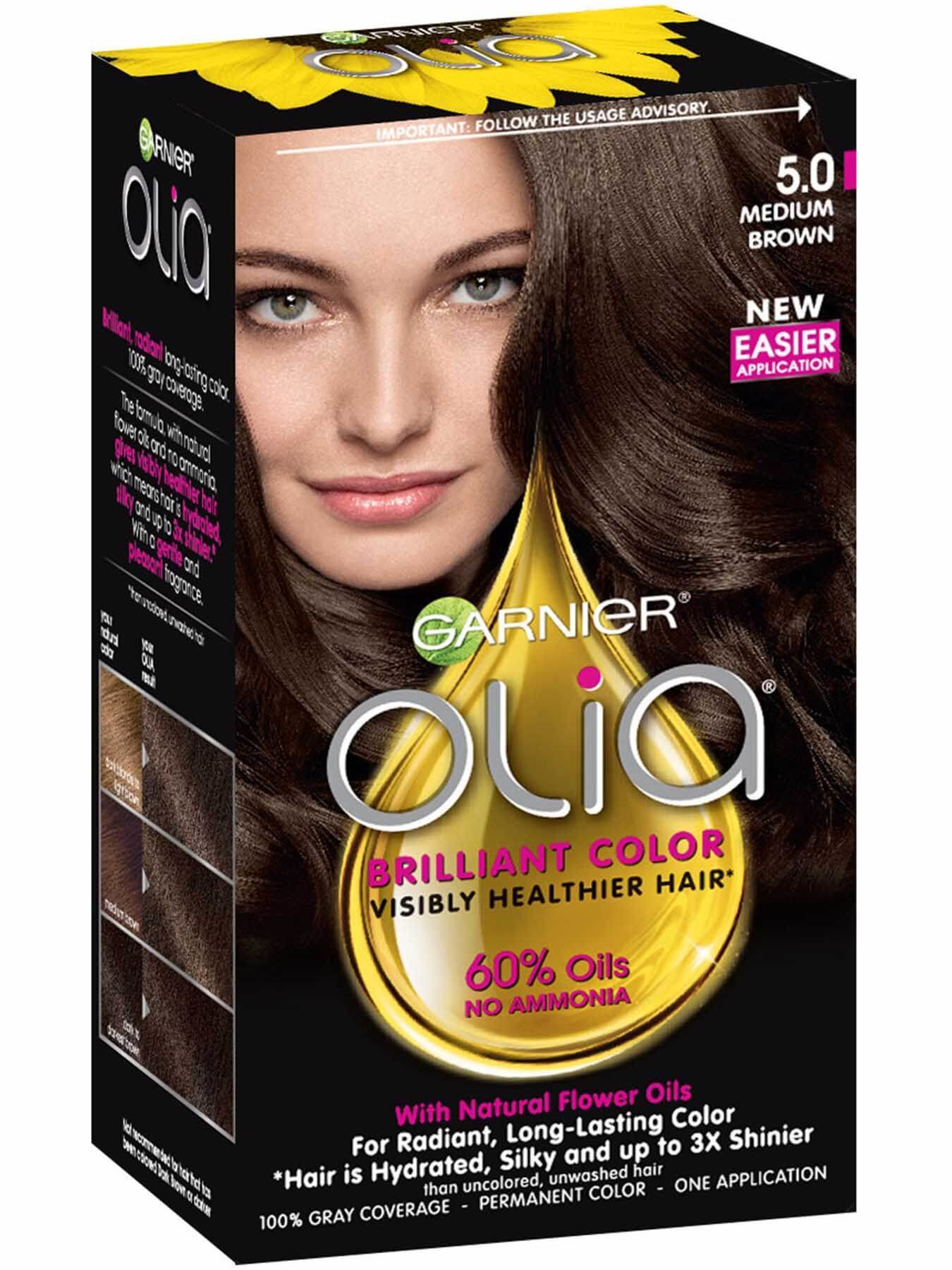 The Best Olia Ammonia Free Permanent Hair Color Medium Brown Pictures
