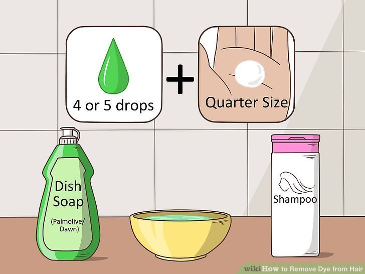 The Best 4 Ways To Remove Dye From Hair Wikihow Pictures