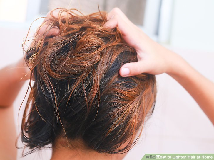 The Best 4 Ways To Lighten Hair At Home Wikihow Pictures