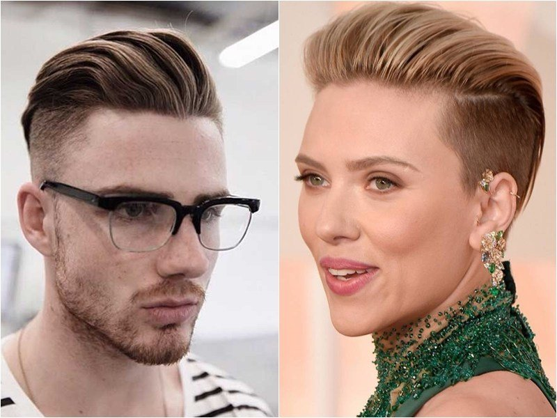 The Best 9 Best Men S Hairstyles That Look Great On Women Aka Unisex Hairstyles Hairstyle Guru Pictures