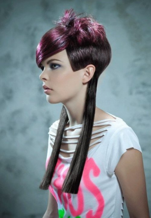 The Best Short Long Hairstyle With Different Lengths And Colors Pictures