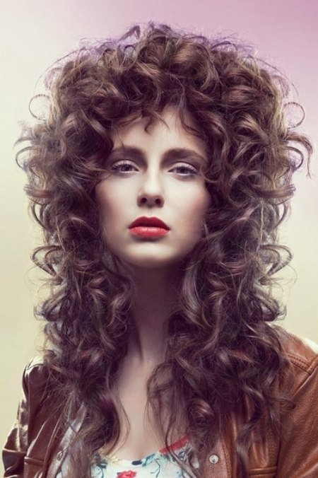 The Best Very Long Hairstyle With Baroque Curls Pictures