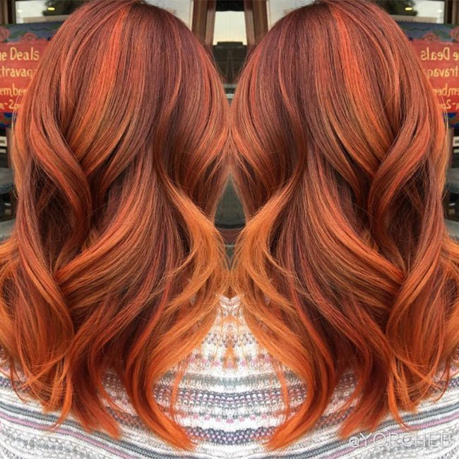 The Best Pumpkin Spice Hair Is Our New Favourite Autumn Beauty Pictures
