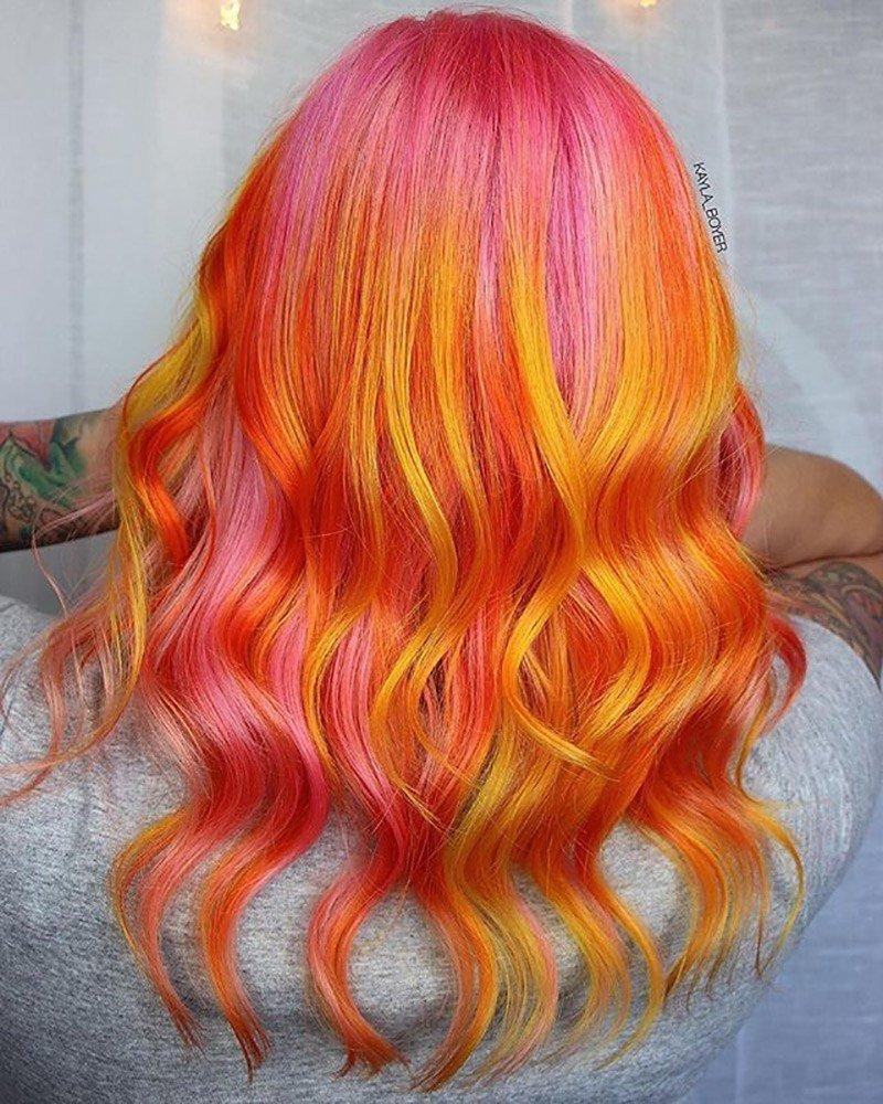 The Best A Treat For You Hair Starburst Coloring Hellosalonpro Pictures