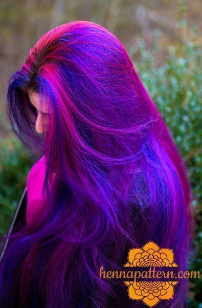 The Best How To Mixing Blue And Purple Hair Dye Henna Pictures