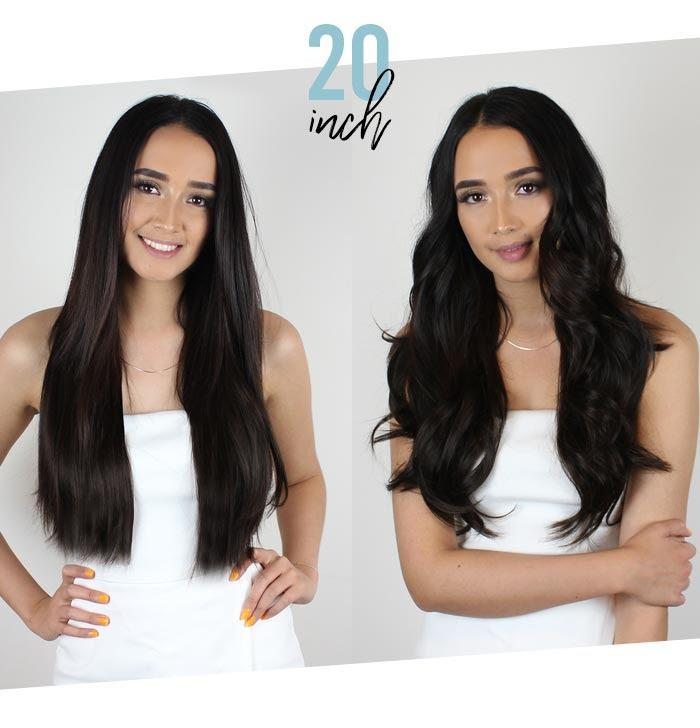 The Best Straight Vs Curly Extension Length Guide Zala Clip In Pictures