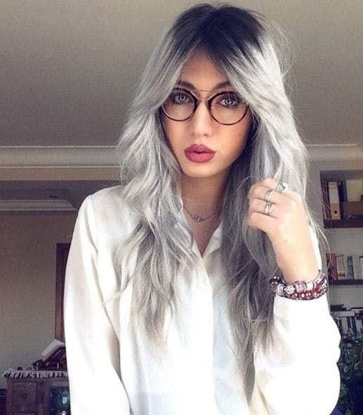 The Best Hair Interview Rockin The Gray Hair Color Trend Pictures