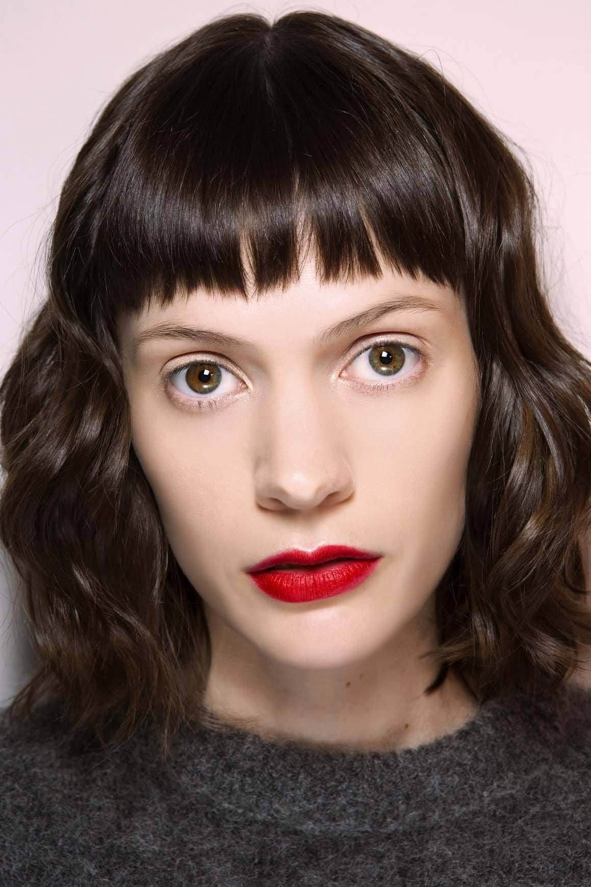The Best Short Bangs 2019 How To Get In On The Trend All Things Hair Pictures