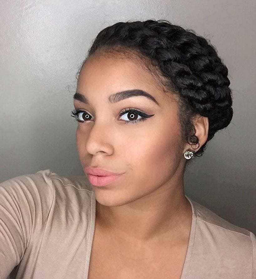 The Best Flat Twist Hairstyles 13 Fierce Looks From Instagram That Pictures