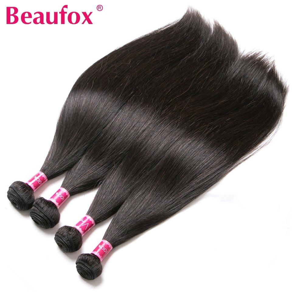 The Best Beaufox Brazilian Hair Weave Bundles Straight Human Hair Pictures