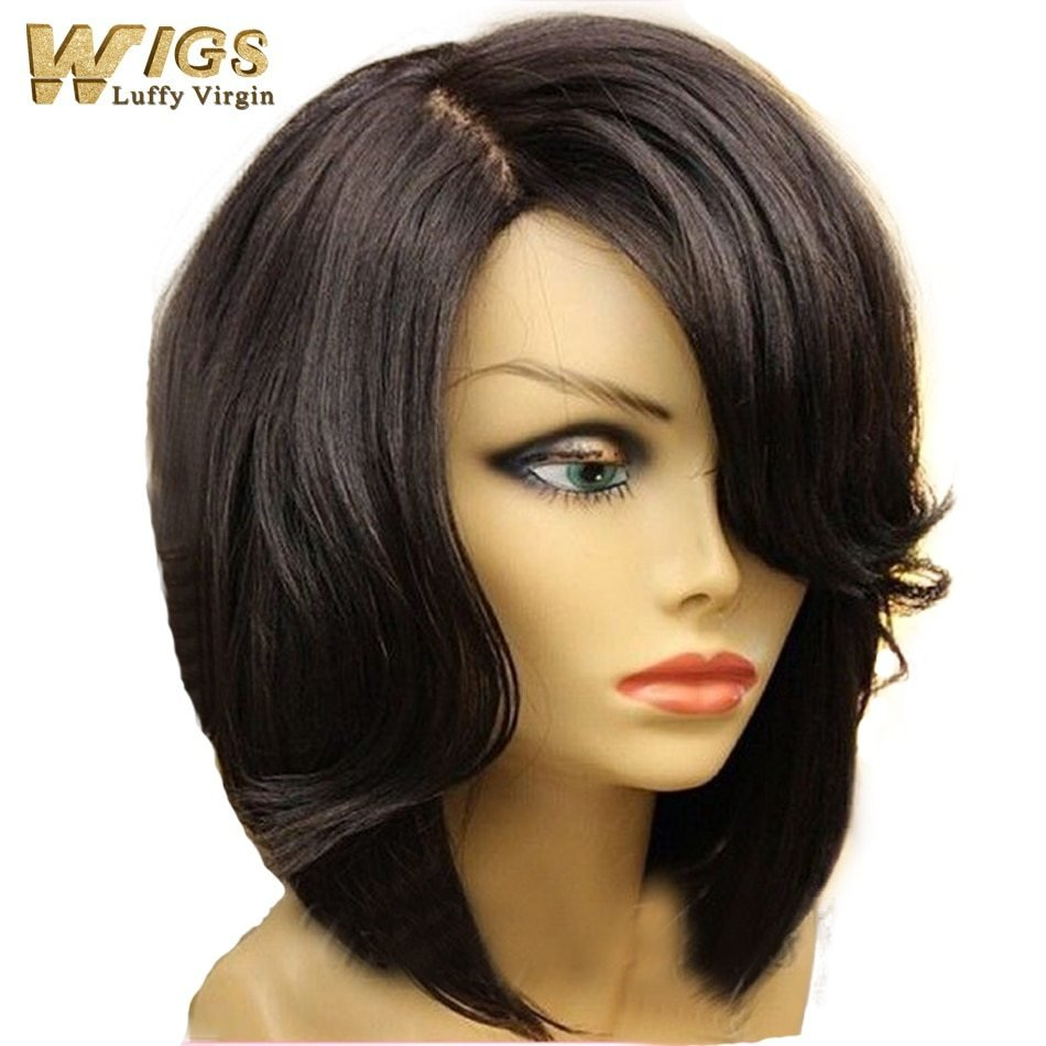 The Best New Bob Cut Style Human Hair Bob Lace Front Wig 130 Density Glueless Short Hair Bob Lace Wigs Pictures