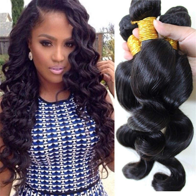 The Best 2016 New Brazilian Loose Wave V*Rg*N Hair 3Pc Tissage Pictures