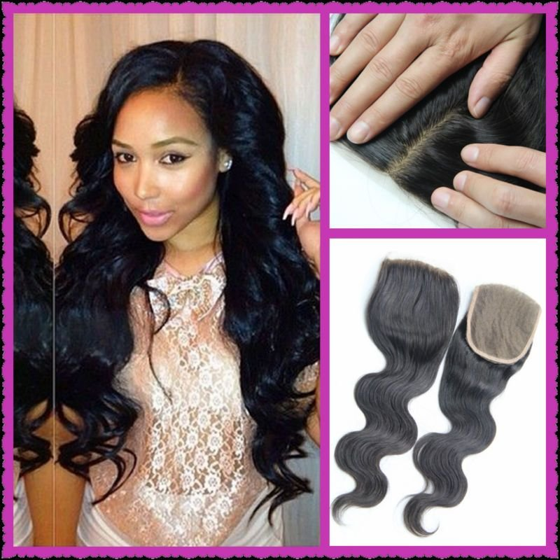 The Best Brazilian Hair Silk Base Closure Bundle Body Wave Free Pictures