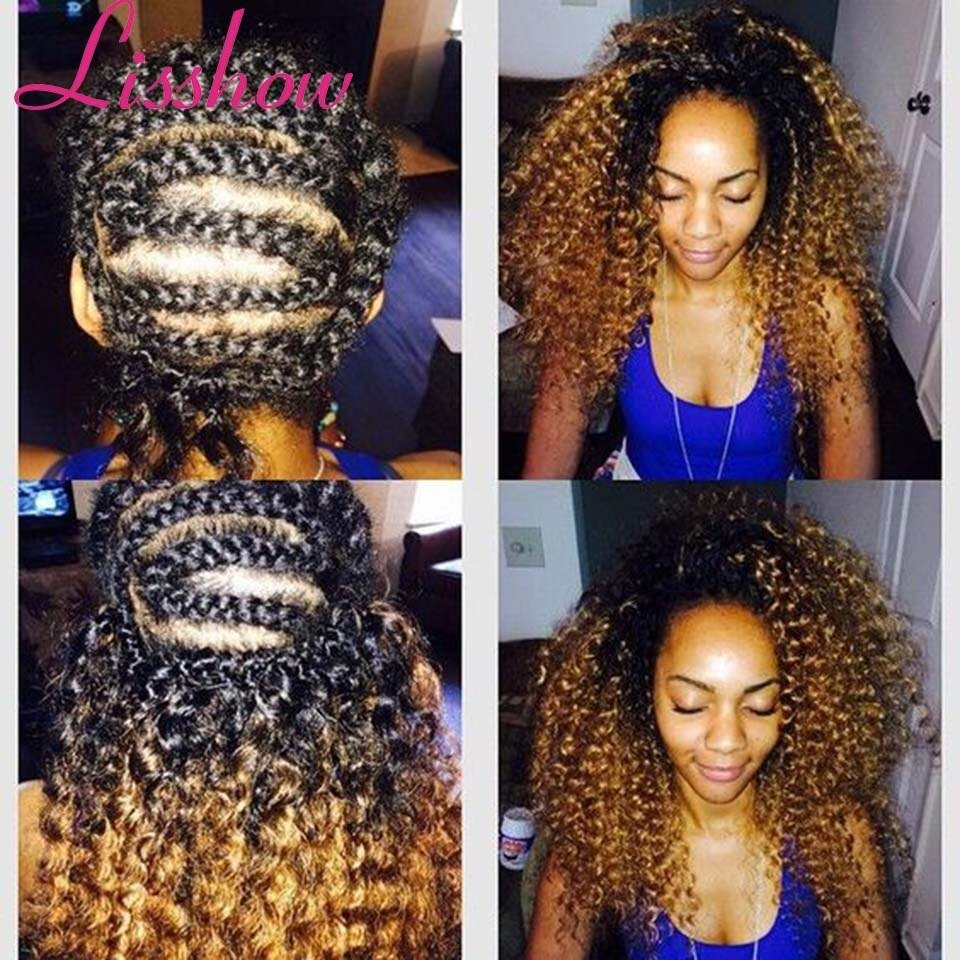 The Best Synthetic Curly Weave Ombre Crochet Braids Hair 3Pcs Set Pink Purple Gray 8 Inch Crochet K*Nky Pictures