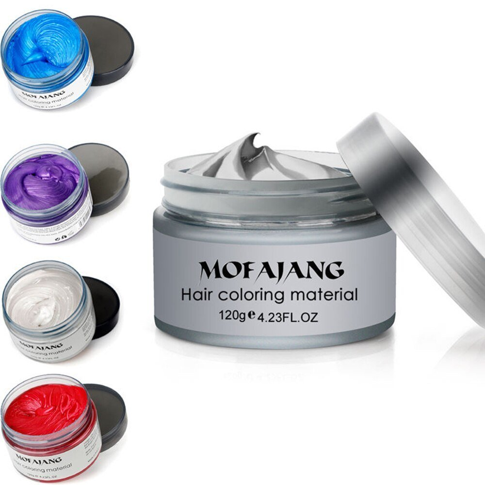 The Best 5 Colors 120 Ml Temporary Hair Color Dye Cream Disposable Pictures