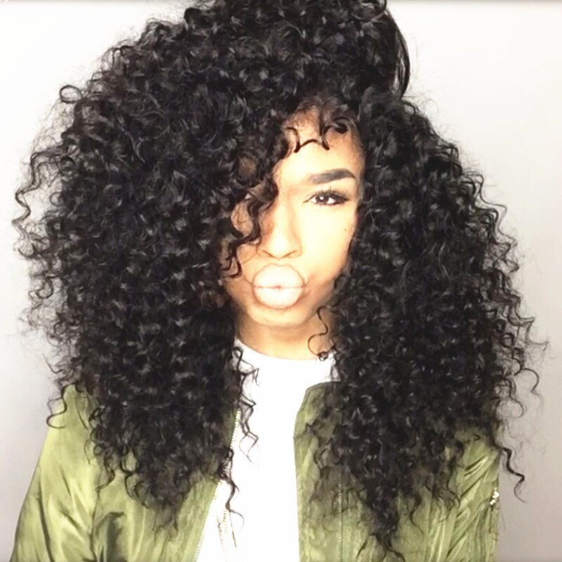 The Best Unice Brazilian Deep Curly V*Rg*N Hair Extension Curly Pictures