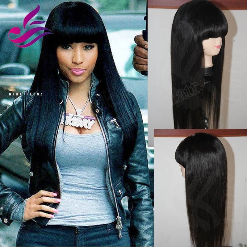 The Best Thick Chinese Bangs Brazilian Silky Straight V*Rg*N Hair Pictures