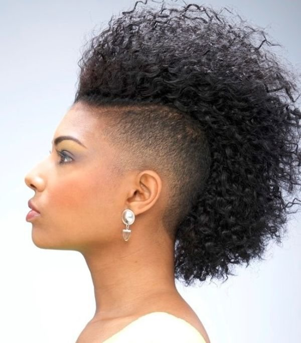 The Best 36 Mohawk Hairstyles For Black Women Trending In July 2019 Pictures