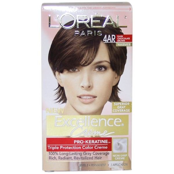 The Best L Oreal Excellence Creme Pro Keratine 4Ar Dark Chocolate Pictures