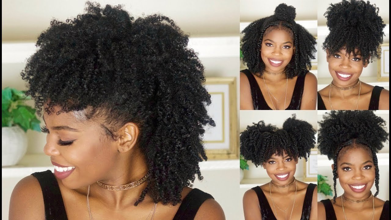 The Best 6 Easy Back To School Hairstyles For Natural Hair Video Pictures