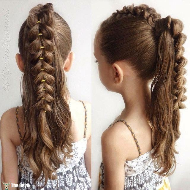 The Best 20 Fancy Little Girl Braids Hairstyle Page 3 Of 3 Pictures