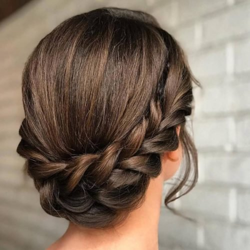 The Best 21 Super Easy Updos Anyone Can Do Trending In 2019 Pictures