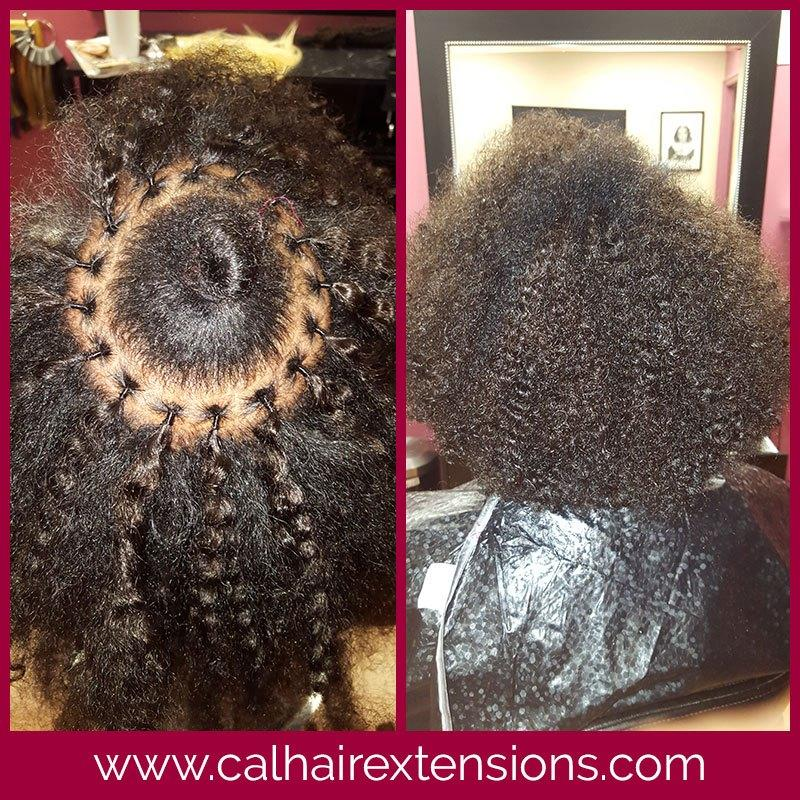 The Best Hair Extensions Before After Photos California Hair Pictures