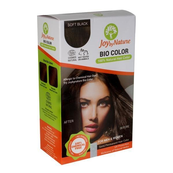 The Best Buy Joybynature Organic Soft Black Hair Color 150Gm – Best Pictures